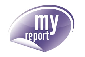 Logo MyReport solution décisionnelle