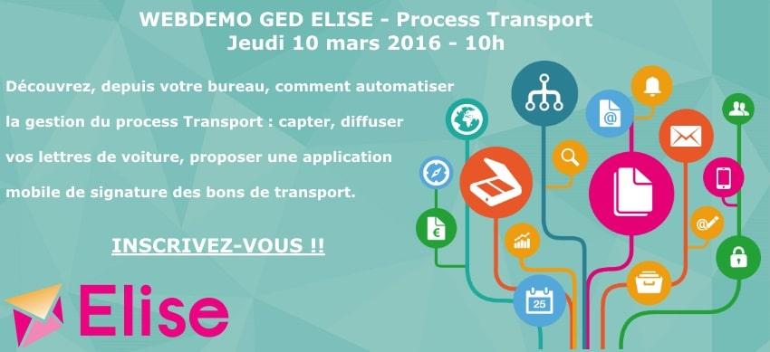 WEBDEMO ELISE Transport - 10 mars