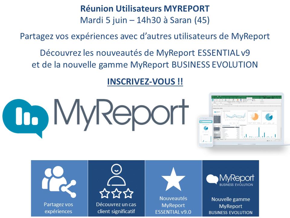 20180605 - Réunion utilisateurs MYREPORT